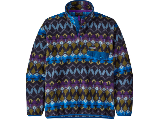 Patagonia Lightweight Synch Snap-T Pull Taille UE Homme, companions big/new navy